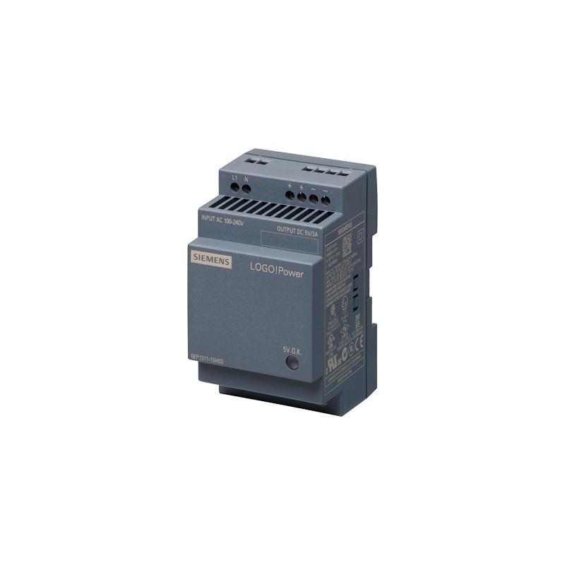 Siemens 6EP1311-1SH03 LOGO!POWER 5 V/3 A FUENTE ALIMENT. ESTABILIZADA ENTRADA